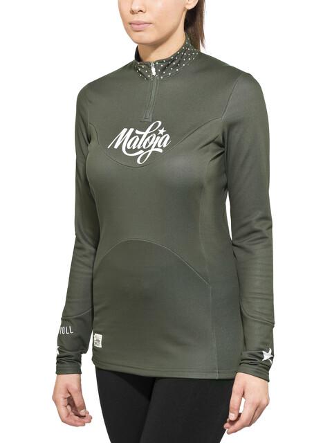 Maloja W's CorvallisM. Long Sleeve Multisport Jersey charcoal